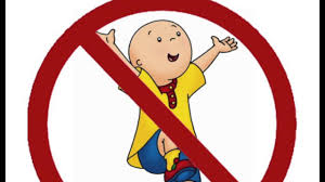 Caillou Has Left the Building